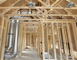 Complete HVAC installs for new construction