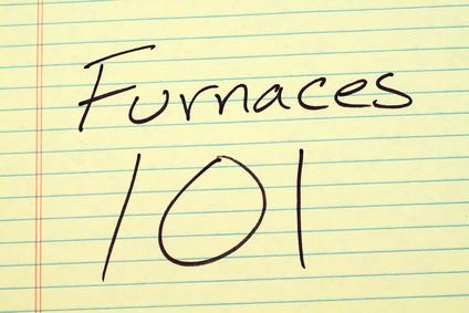 """Furnaces 101"" illustration. High efficiency gas furnaces"