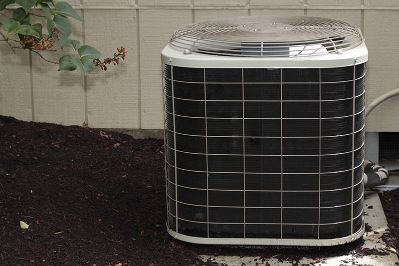 A refrigerated air conditioning unit