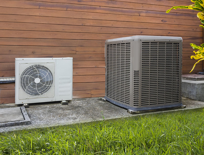 a residential heat pump